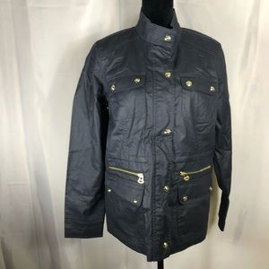 TOMMY HILFIGER Women Wax Waxed Cotton Jacket Coat